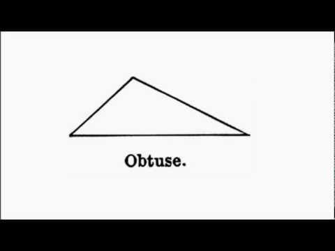 Ah, The Obtuse Triangle