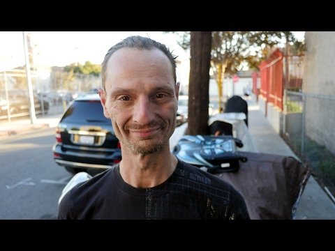 Samuel is homeless in Los Angeles and suffers from mental illness.