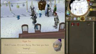 runescape glitch last year 2008 with this year 2009