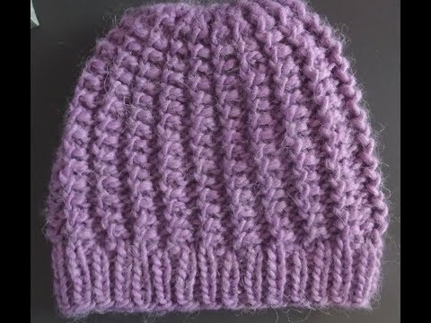* HOW TO KNIT A PRETTY AND EASY HAT *