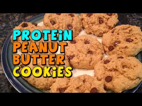 PROTEIN Peanut Butter Cookies Recipe (Quick & Healthy)