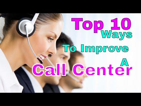 Top 10 Ways To Improve A Call Center