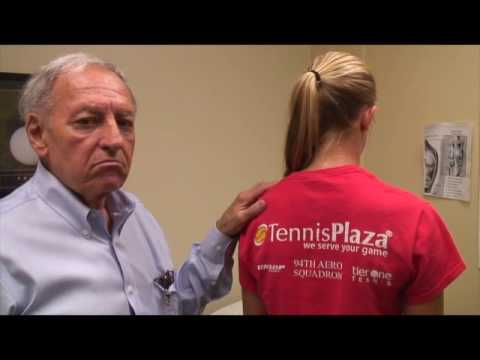 HOW TO Treat and cure mild Scoliosis of Tennis players injury