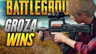 Battlegrounds: HUNTING THE GROZA (Playerunknown