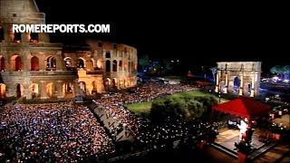 ĐGH và Chặng đàng Thánh Giá ở Colosseum: Chúng con xấu hổ, nhưng có một trái tim đầy hy vọng