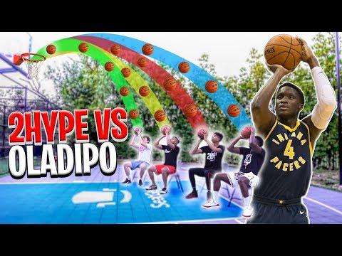 NBA Basketball BANK in Chairs - 2HYPE vs. Victor Oladipo