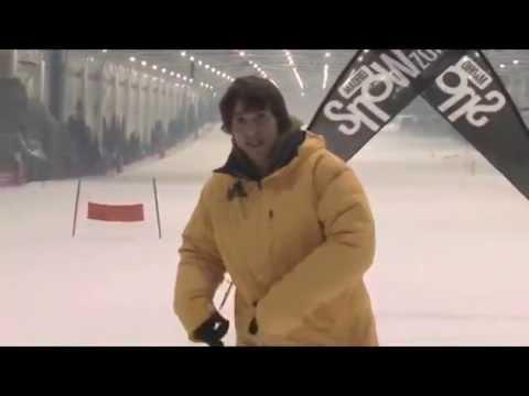 Como girar con la tabla de snowboard. Tutorial de snowboard