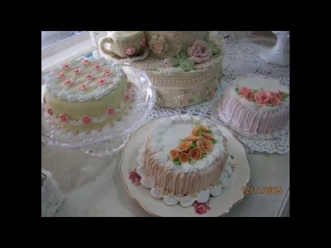 Shabby Chic Fake Cakes