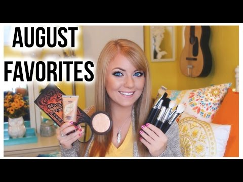 These are a few of my favorite things... AUGUST FAVORITES!
