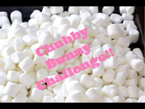 The Chubby Bunny Challenge So Hard!!