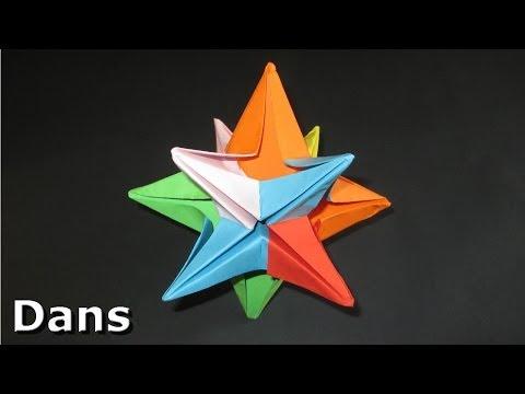 Origami: 3D Star - Christmas Decoration Idea's