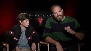 Brightburn: David Denman & Jackson Dunn Official Movie Interview