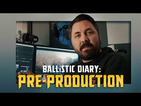 Pre-Production Diary