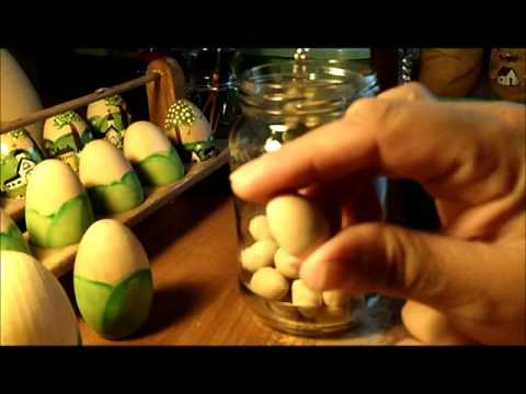 Part 2 of 2 - Primitive Painting Eggs Tips, and SAVING YOU MONEY!
