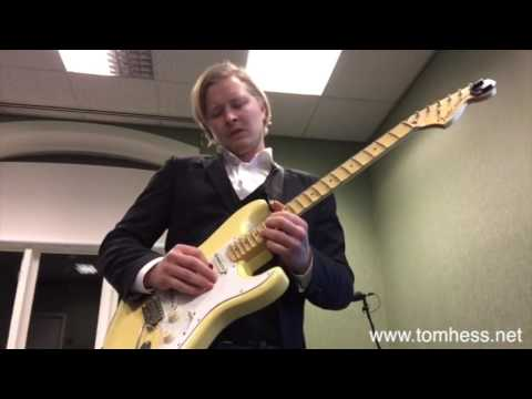 Tom Hess Guitar Playing And Music Contest – Magnus Gautestad