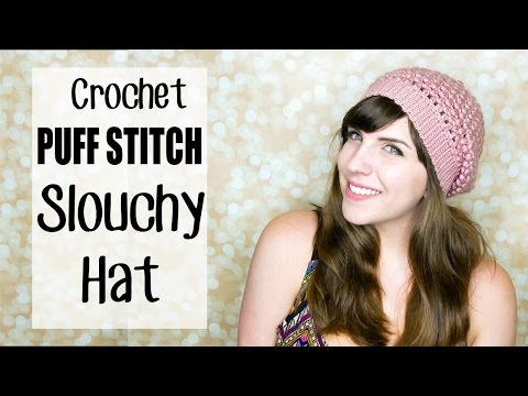 Crochet Puff Stitch Beanie Hat 2.0