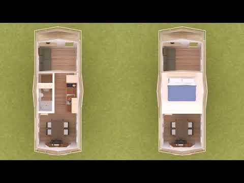 28 Ft Tiny House Floor Plans