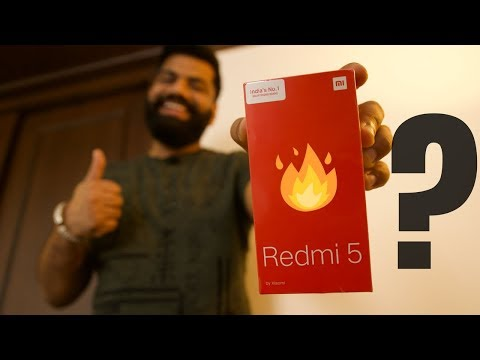 Xiaomi Redmi 5 Unboxing and First Look - New in the Budget?