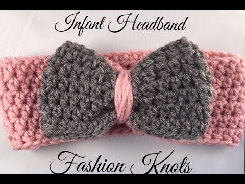 Crochet Infant Headband Tutorial