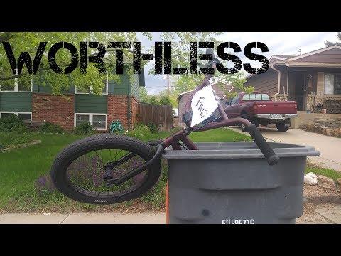 I found a FREE BMX BIKE!