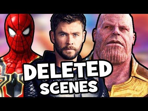 Avengers Infinity War DELETED & FAKE Scenes Explained