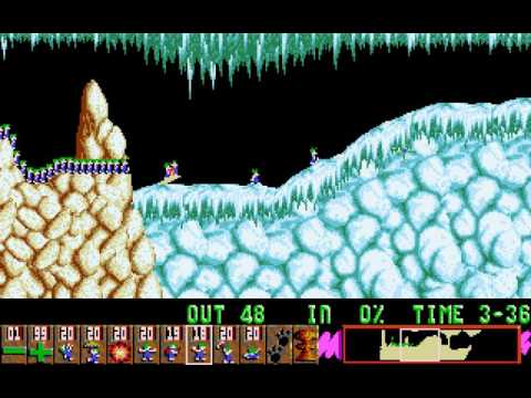DOS Game: Oh No! More Lemmings
