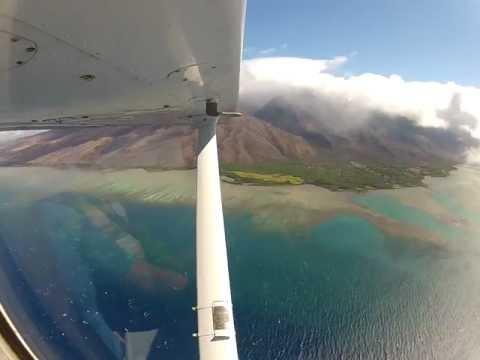 Skyhawk Flight to Molokai and Hana (Maui)