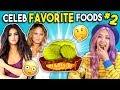 Trying Celebrity Favorite Foods People Vs Food