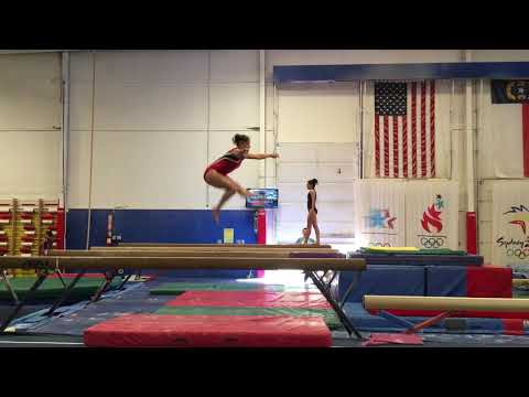 Front tuck wolf jump straddle jump