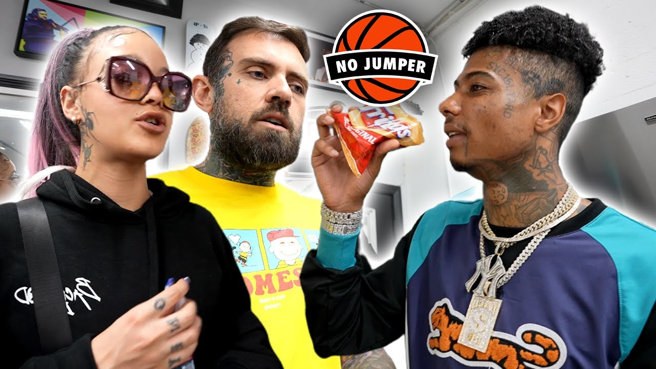 Blueface Brings 20 Girls To The No Jumper Studio & They Get Ignorant