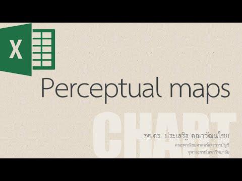 สอน Excel: สอนการสร้างแผนภาพแสดงการรับรู้ (Perceptual maps หรือ Positioning maps)