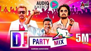 DJ Party Mix Kannada Hit Songs , New Kannada Remix Audio Jukebox , Selected Hit Audio Songs 2017