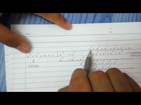 CRC polynomial tutorial