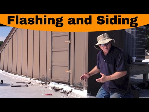 Flat Roof - Flashing and siding causes the most problems.