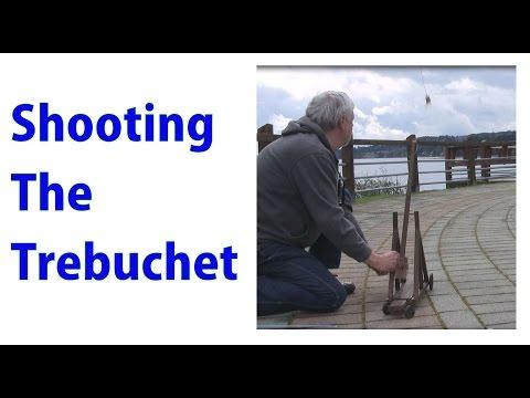 Shooting a Model Trebuchet  - a woodworkweb video