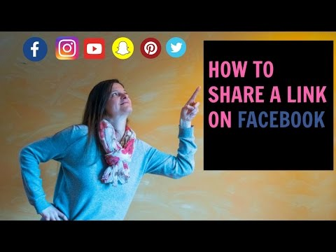 How to Create a Link Share Post on Facebook