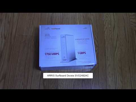 Arris SURFBoard SVG2482AC - Unboxing