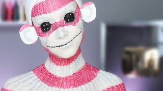 Sock Monkey Makeup Tutorial
