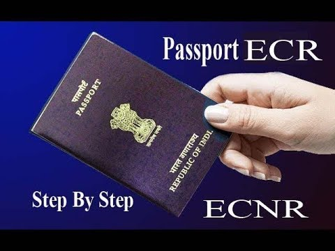 WHAT IS DIFFERENCE BETWEEN ECR & ECNR PASSPORT IN INDIA