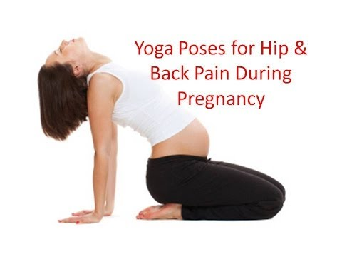 Back & Hip Pain During Pregnancy Yoga Stretches