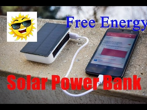 Build a Solar USB Charger - Homemade