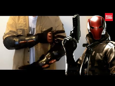 DIY Red Hood: Gauntlets Made From Actual Bike Body Armor Cosplay How to