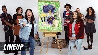 Match Art to Artist | Lineup | Cut