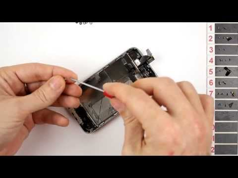 iPhone 4S Screen Replacement Disassembly and Reassembly - CRAZYPHONES