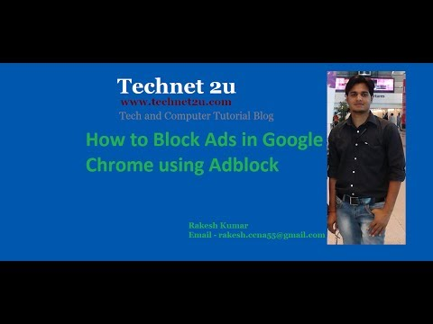 How to Block Ads in Google Chrome using AdBlock