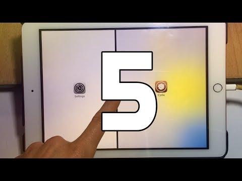 5 Best iPad tweaks - iOS 11 / 11.1.2