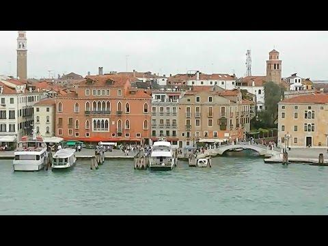 Entering Venice by Cruise Ship