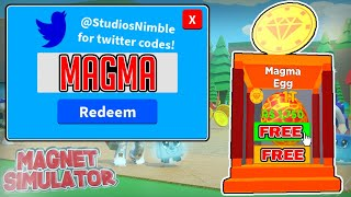 Roblox Magnet Simulator Codes 2019 Earn Points And Get Robux - roblox james charles videos 9tubetv