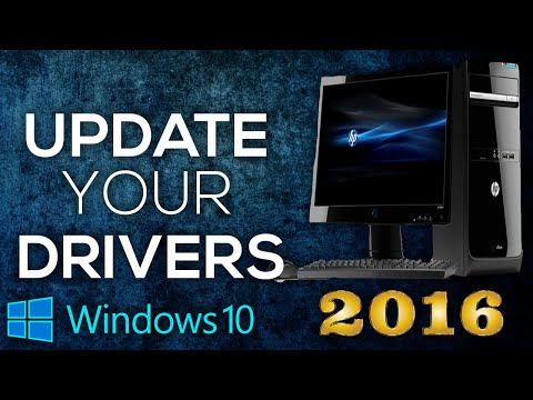 How To Get The Latest Drivers For Your Pc/Laptop Windows 10 - Update Your Computer Drivers (2016)