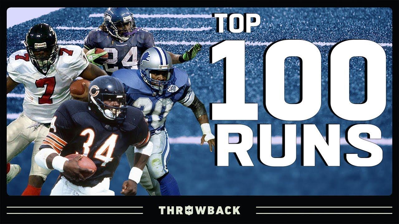 Top 100 Runs in NFL History!